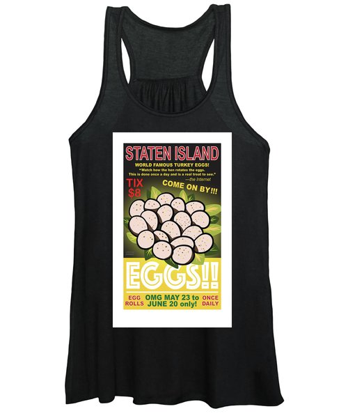 Staten Islands Eggs Women's Tank Top