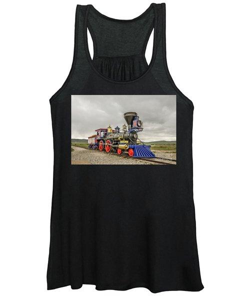 Steam Locomotive Jupiter Women's Tank Top