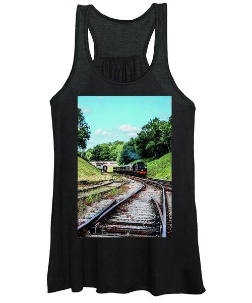 Steam Train Nr The Bridge Women's Tank Top