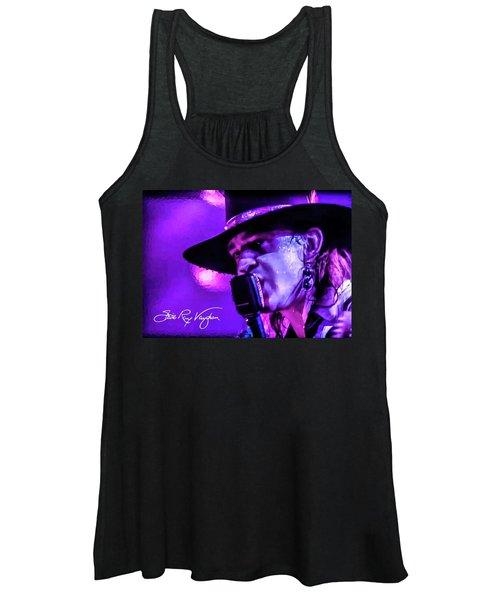 Stevie Ray Vaughan- Voodoo Chile Women's Tank Top