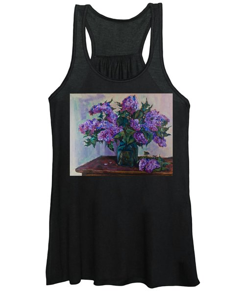 Still Life With Lilac  Women's Tank Top
