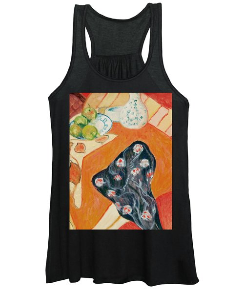 Still Live With Red Women's Tank Top