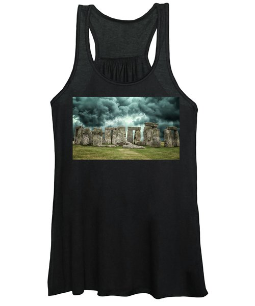 Stonehenge Storms Women's Tank Top