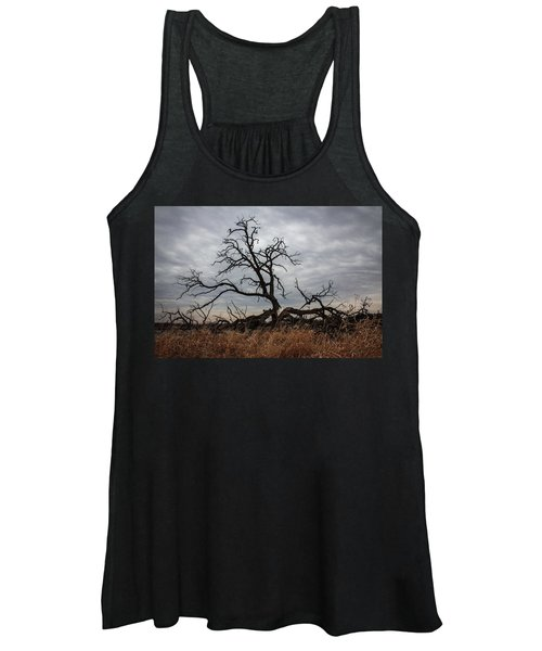 Storms Make Trees Take Deeper Roots  Women's Tank Top