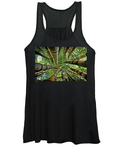 Stunning Bamboo Forest - Color Women's Tank Top