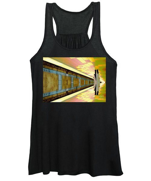 Subway Man Women's Tank Top