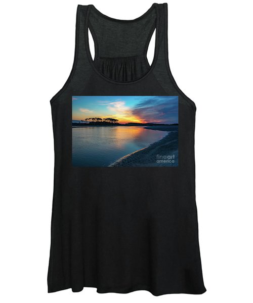Summer Sunrise At The Inlet Women's Tank Top