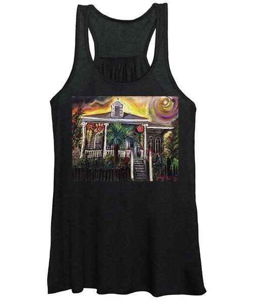 Summertime New Orleans Women's Tank Top