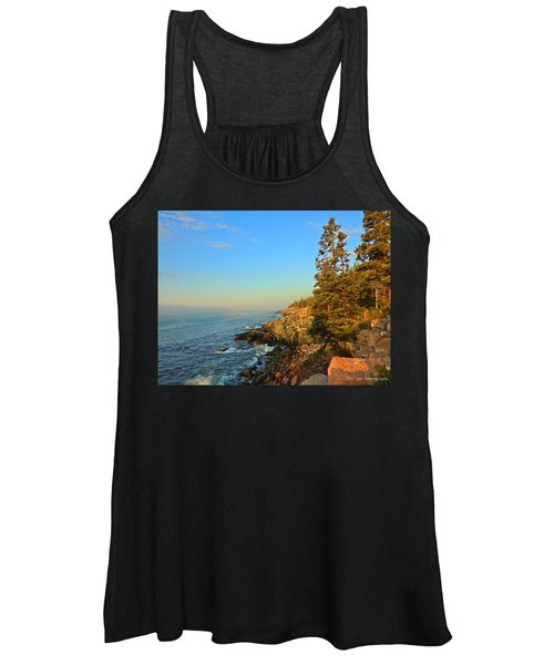 Sun-kissed Coast Women's Tank Top