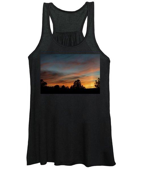 Sun Pillar Sunset Women's Tank Top
