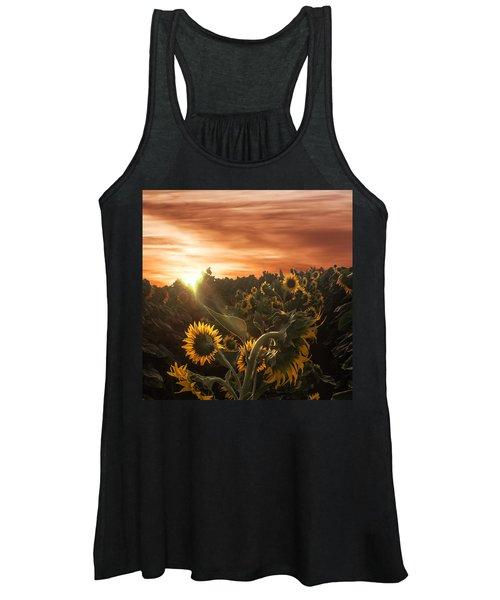 Sunflower Rise Women's Tank Top