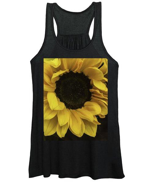Sunflower Up Close Women's Tank Top