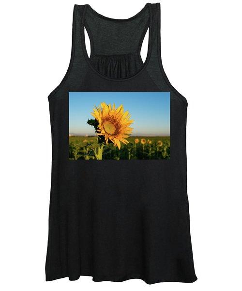 Sunflowers At Sunrise 2 Women's Tank Top