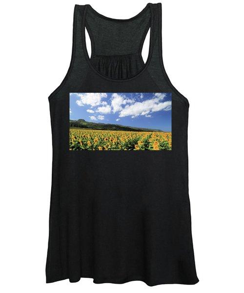 Sunflowers In Waialua Women's Tank Top