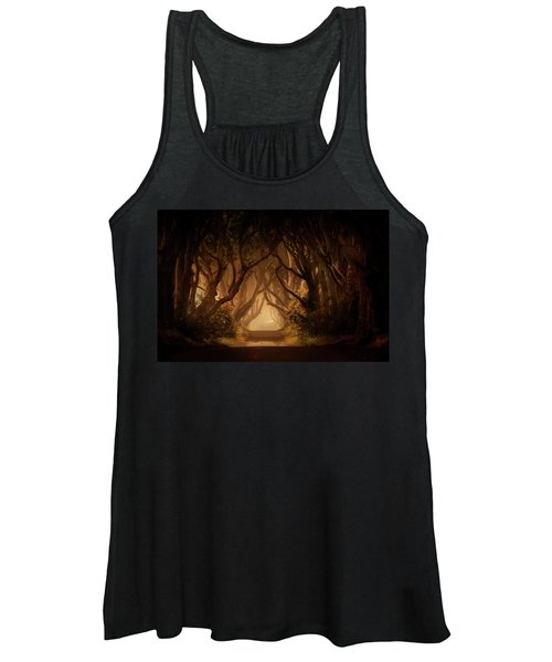 Sunny Morning In Dark Hedges Women's Tank Top