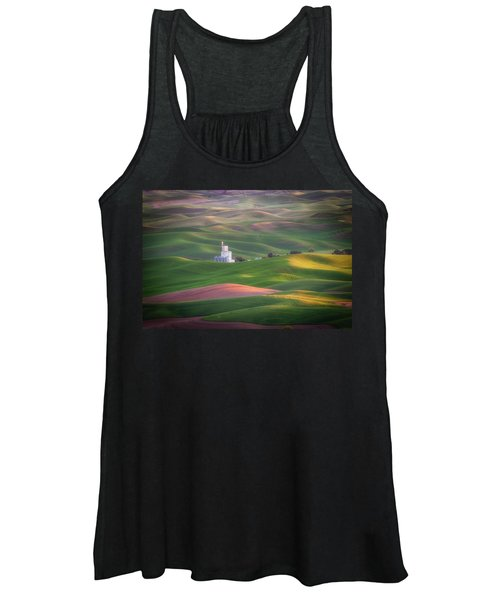 Sunrise From Steptoe Butte. Women's Tank Top