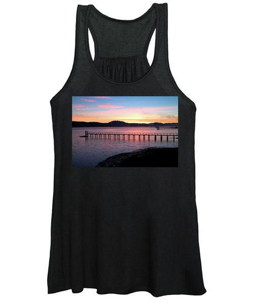Sunrise Over Tomales Bay Women's Tank Top