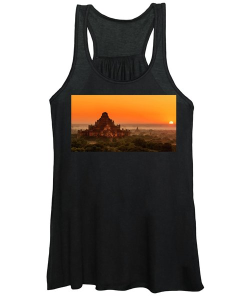 Sunrise View Of Dhammayangyi Temple Women's Tank Top
