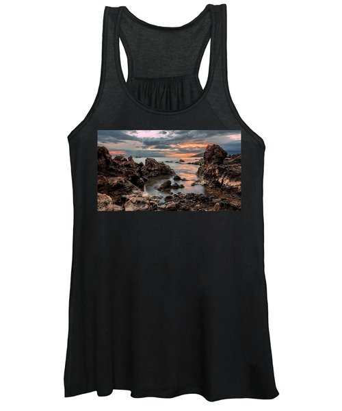 Sunset At Charley Young Beach Women's Tank Top