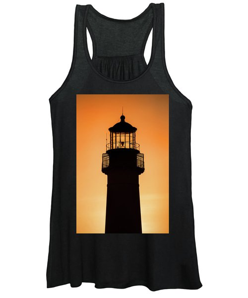 Sunset At Lighthouse Women's Tank Top