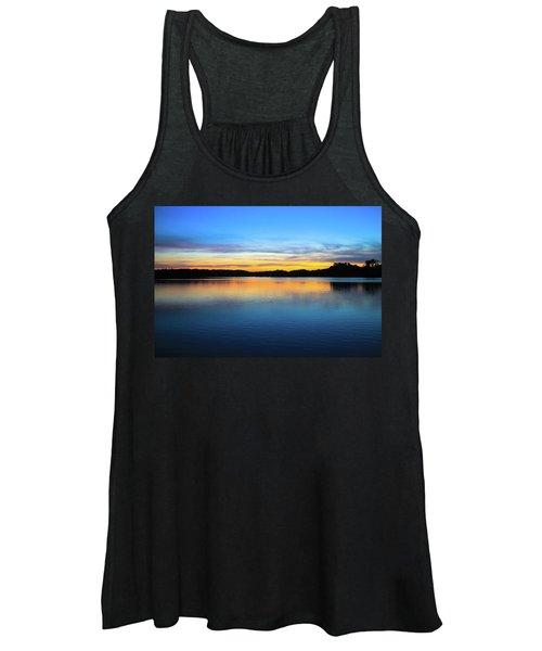 Sunset At Stumpy Lake Virginia Beach Women's Tank Top