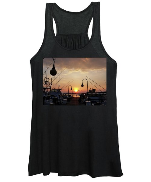Sunset At The End Of The Talbot St Pier Women's Tank Top