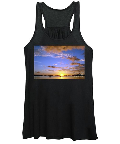 Sunset In Paradise Women's Tank Top