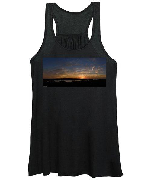 Sunset On Lake Georgetown Women's Tank Top