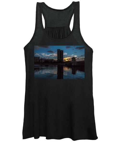 Sunset On The Water Women's Tank Top