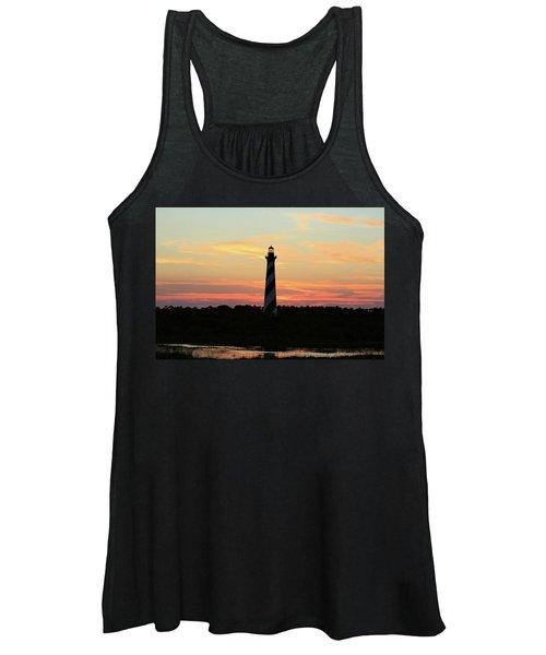 Sunset Over Cape Hatteras Light Women's Tank Top