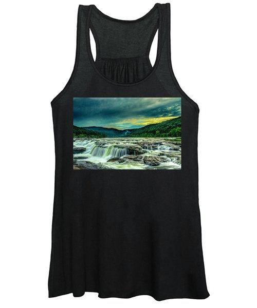 Sunset Over Sandstone Falls Women's Tank Top