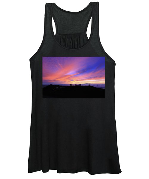 Sunset Over The Clouds Women's Tank Top