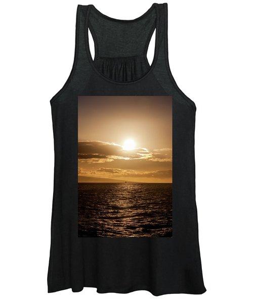 Sunset Sailboat Women's Tank Top