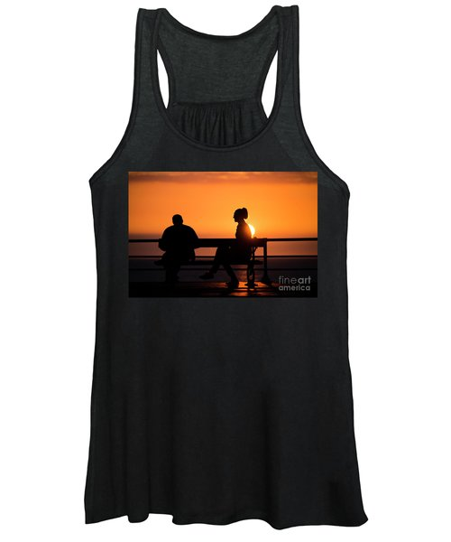 Sunset Silhouettes Women's Tank Top