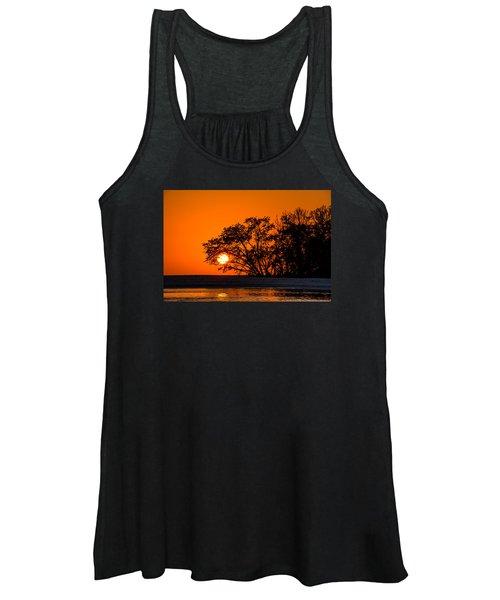 Sunset Sillouette Women's Tank Top