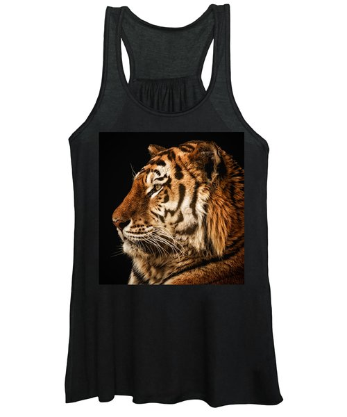 Sunset Tiger Women's Tank Top