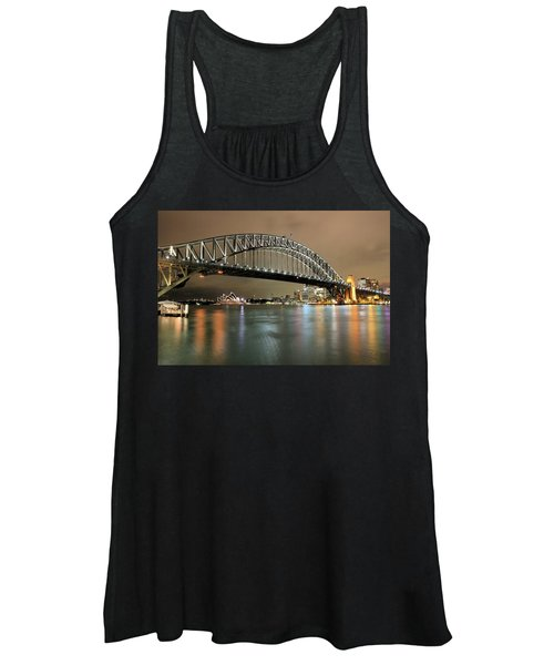 Sydney Harbour At Night Women's Tank Top