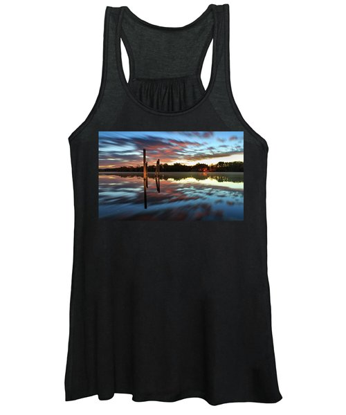 Symetry On The River Women's Tank Top