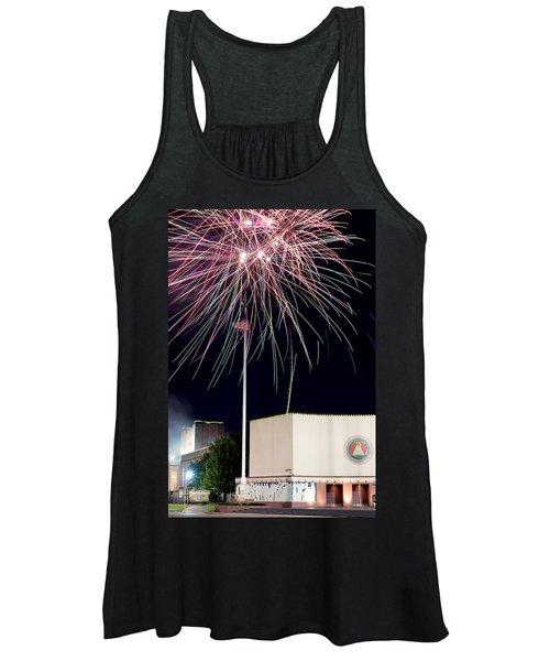 Taste Of Dallas 2015 Fireworks Women's Tank Top