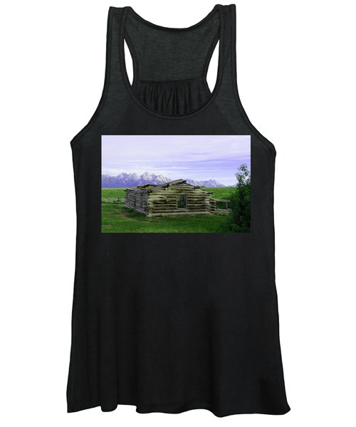 Tetons From The Shane Barn Women's Tank Top