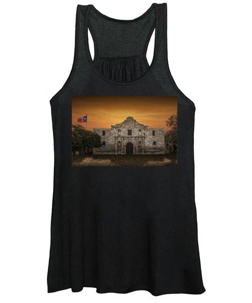 The Alamo Mission In San Antonio Women's Tank Top
