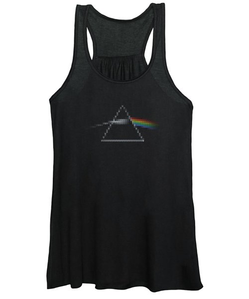 The Dark Side Of The Ugly Christmas Sweater Cool Dark Side Of The Moon Music Parody Women's Tank Top