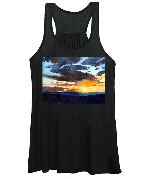 The Glory Of The Sunset Women's Tank Top