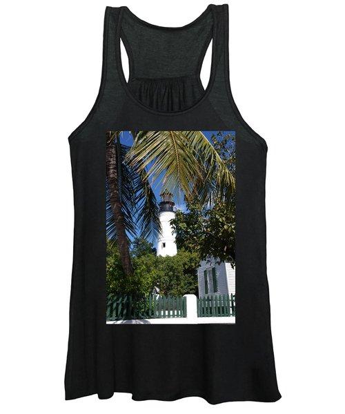 The Lighthouse In Key West II Women's Tank Top