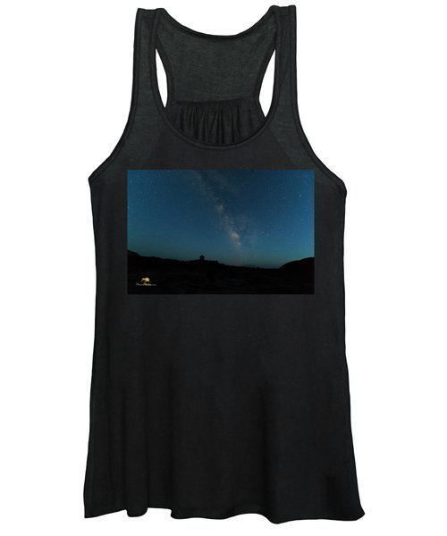 The Milky Way At Goblin Valley Women's Tank Top