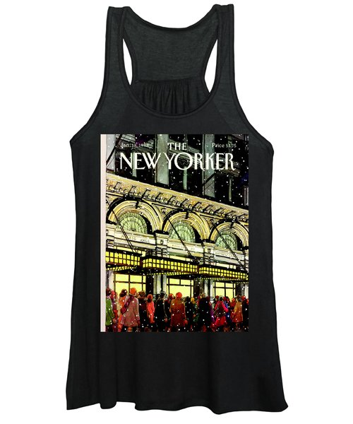 The New Yorker Cover - January 18th, 1988 Women's Tank Top