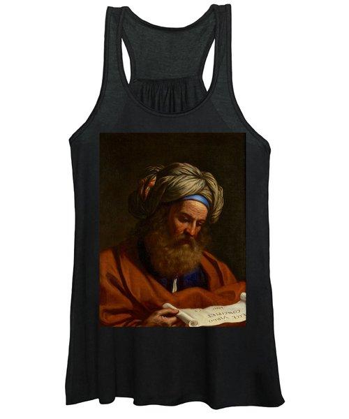 The Prophet Isaiah Women's Tank Top
