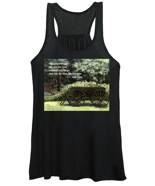The Simple Things Women's Tank Top
