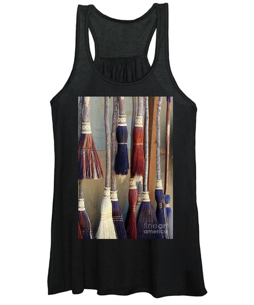 The Witches Brooms Women's Tank Top