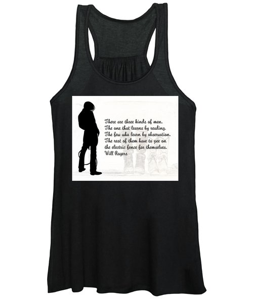 There Are Three Kinds Of Men Women's Tank Top